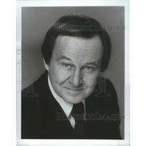 1984 Press Photo Jim McKay, host of ABC Sports coverage of 1984 Olympics