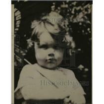 1927 Press Photo Fraizer Chattanooga Child  - nee70016