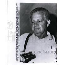 1959 Press Photo Gov Earl K Long D-LA  - nee60329