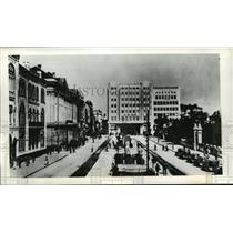1941 Press Photo Royal Square in Belgrade, Yugoslavia - mja43203