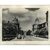 1941 Press Photo Belgrade, Yugoslavia during World War II - mja43204