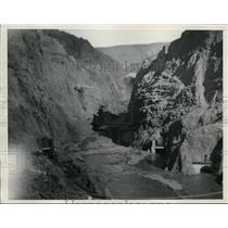 1932 Press Photo Boulder (Hoover Dam) in Colorado - nef33079
