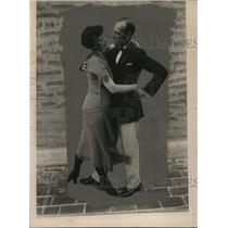 1924 Press Photo Chandler Peak, Edwina Martine Weckler Dancing - nef44577