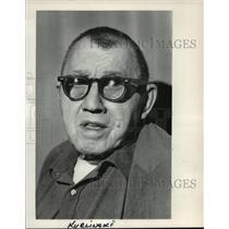 1983 Press Photo World War II Veteran George Kurlinski - mja39495