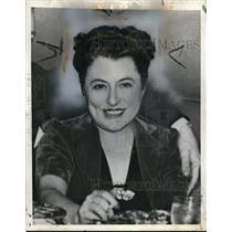 1940 Press Photo Ex Woman Spy Madeleine - nef49056