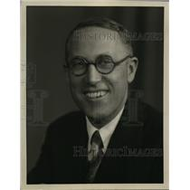 1929 Press Photo Jennings Pierce Chief Announcer of NBC Pacific Coast