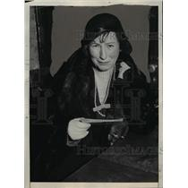 1932 Press Photo Polly Moran at Los Angeles district Attorney's Office