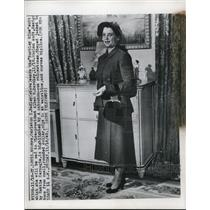 1849 Press Photo Mrs.Carleton Hadley to wed Vice Pres. Alben W. Barkley