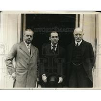 1927 Press Photo British Ambassador Sir Esme Howard, writer Philip Guedalla