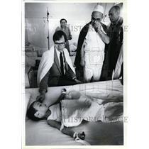 1990 Press Photo Romania, Oregonian Series, Zamfir Tudor, Gheorghe Raducanu