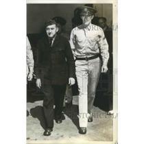 1942 Press Photo Grover Cleveland Bergdoll sought a presidential pardon today.