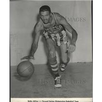 1963 Press Photo Bobby Milton forward Harlem Globetrotters Basketball Team