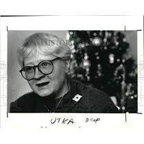 1989 Press Photo Jutka Barabas  - cva01269