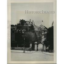 1941 Press Photo The palace of King Boris III of Bulgaria - mjx22230
