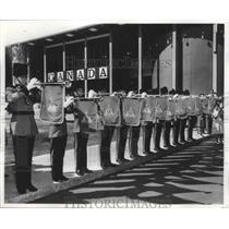 1962 Press Photo Canadian International Military Tattoos - fux00063