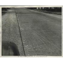 1946 Press Photo Des Moines Highway Repairs/Condtions, Washington - fux00464