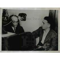 1936 Press Photo Luis C Prestes leader of revolt in Brazil before his suicide