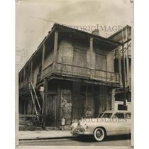 1961 Press Photo Building at 914 Bourbon street - nox01327