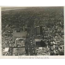 1962 Press Photo New Orleans Mardi Gras Carnival Parade air view - noz00229