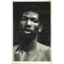1980 Press Photo Portland Trail Blazers player, Mike Harper - orc19006