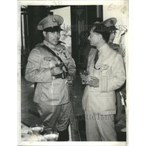 1937 Press Photo Colonel Fulgencio Batista Cuba