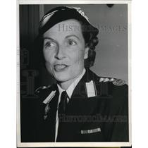 1941 Press Photo Lady Mounbatten Executive head of the British Red Cross