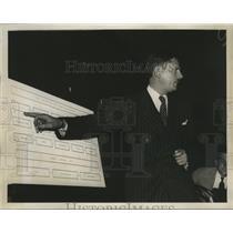 1939 Press Photo John H. Metcalfe at Dies Un-American Investigating Hearing