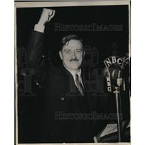 1936 Press Photo US Communist Party, Earl Browder Presidential candidate