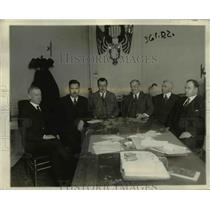 1921 Press Photo Executive Committee of Harding Inaugural Sam Prescott