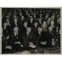 1936 Press Photo Miners convention United Mine Workers in DC - nep01733