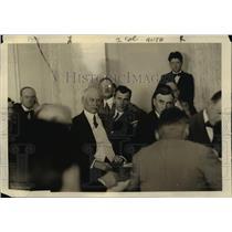 1919 Press Photo Judge EH Gary at Senate investigating committee - nep02407