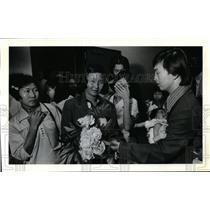 1979 Press Photo Sy Vann- Cambodian refugee - orb93874