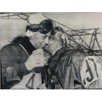 1952 Press Photo Andrea and David Lawrence at Olympics