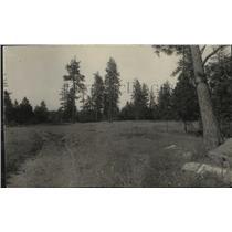 1930 Press Photo Dirt Path Through Indian Canyon Golf Course - spa35440