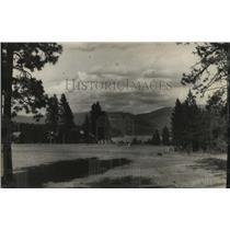 1930 Press Photo Golf Course at Hayden Lake - spa35448