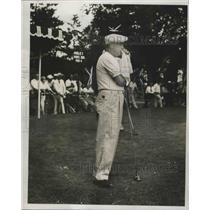 1954 Press Photo Golfer Willie Turnesa - fux00872