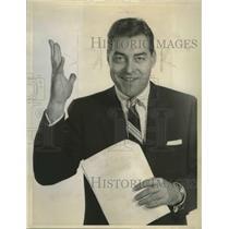 1957 Press Photo Jack Barry - fux01209