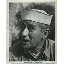 1962 Press Photo McHales Navy starring Bob Hastings as Lt Elroy Carpenter