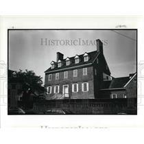 1986 Press Photo William Pace mansion, Annapolis Maryland - cva21206
