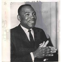 1962 Press Photo James Meredith Civil Rights Activist on Chicago Shooting