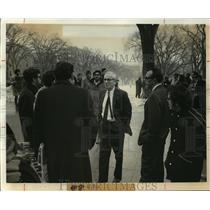 1969 Press Photo Campus Demonstration for Black Demands - mja46684