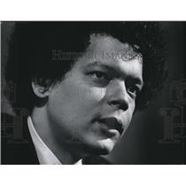 1975 Press Photo Julian Bond-American social activist and leader in Civil Rights