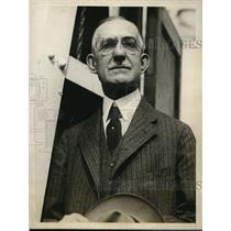 1927 Press Photo C.B. Heiserman returning to New York - ned35044