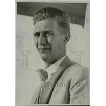 1933 Press Photo Herbert W. Hard Montana Metallurgist arrives in Los Angeles