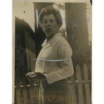 1917 Press Photo Mlle. Duvernor, Governess of Jack de Saulles - nef44219