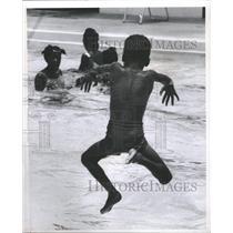 1969 Press Photo Wayne Nelson Pool Youth Center