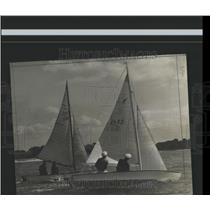 1940 Press Photo Daily news Regatta fleet competition