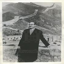 1960 Press Photo Gerald Clark NANA Correspondent