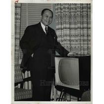 1956 Press Photo Gen Carlos P Romulo, Philippine Ambassador to the United States