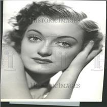 1936 Press Photo Joy Hodges American Actress Singer